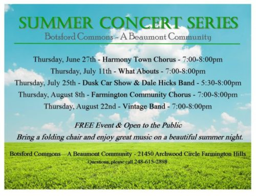 Free Outdoor Concert, Vintage Band
