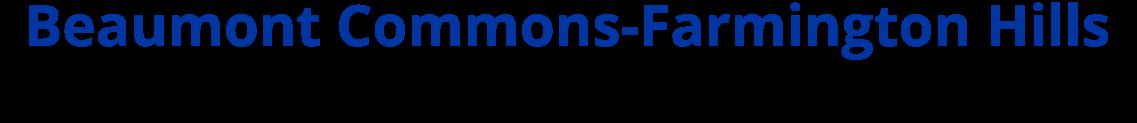 Beaumont Commons Farmington Hills Logo
